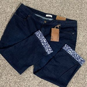 New Coldwater Creek Detailed Cropped Leg